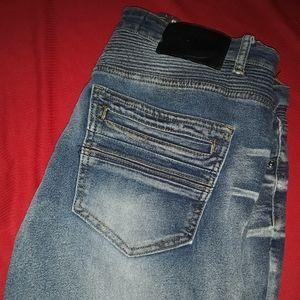 X-Ray Mens Designer Jeans- 36x30 (137711)